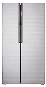 Samsung RS552NRUA7E Frost free Side by Side Refrigerator  545 Ltrs Silver