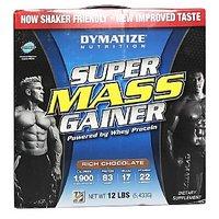 Dymatize Super Mass Gainer, Rich Chocolate 12 Lb