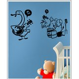Gloob Decal Style Clouds Wall Sticker (48*28)