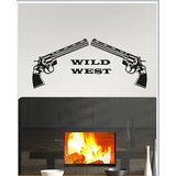 Gloob Decal Style Wild Wall Sticker (30*13)