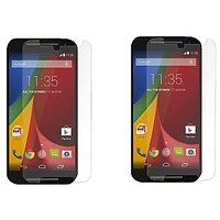 Tempered Glass For Moto G2 Pack Of 2