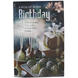 3-D Happy Birthday Greeting Card