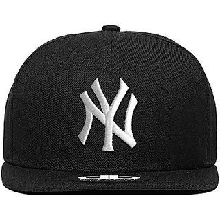 Techamazon -Cap for Men -Quality NY Hip Hop Cap Hat For Men Women 58 cms Free Size