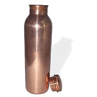 Tera India Advanced Raghav India 100 Genuine Copper Water Bottle Jointless 1 Litre Capacity