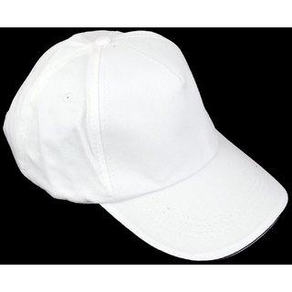 Techmahoday  Caps For Man  White Cap