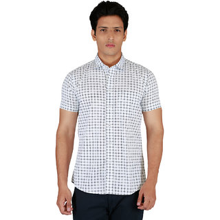 Integriti Half Sleeve Printed Multicolor Men's Shirts