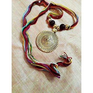 Designer Brass Metal Necklace For Women