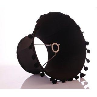 AnasaDecor Lamp Shade Regular Black silk