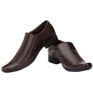 Ziyy Brown Men Formal Shoes ZLS491