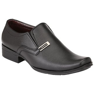 Ziyy Black Men Formal Shoes ZLS460