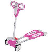 Kids Mandi Four Wheel Flip Scooter Pink