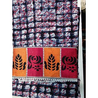 Shree Collection Black  Pink Colour cotton Unstiched Dress Material