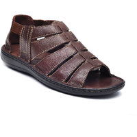 Tanny Shoes Brown Colour Men Classie Leather Sandal