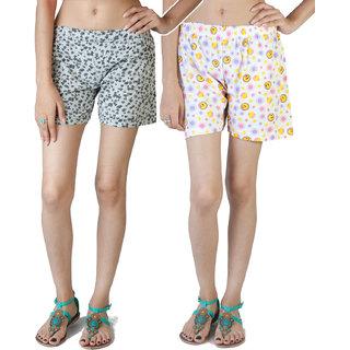 Fabpoppy Women's Shorts Combo