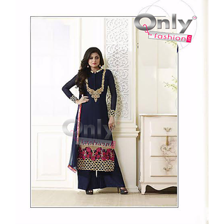 Gorgeous Navy Blue Straight Suit by Only Fashion