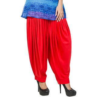Women's Dhoti Salwa ,Orange