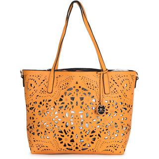 Diana Korr Yellow Shoulder Bag DK64HYEL