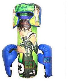Ben 10 Boxing Kids Set - Green  Blue