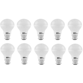 BRIO LITE B22 10 W LED BULB ( PACK OF 10 PCS WHITE )