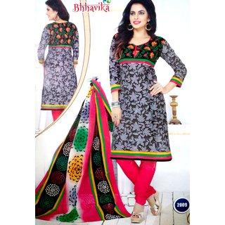 Bhhavika black dress materials