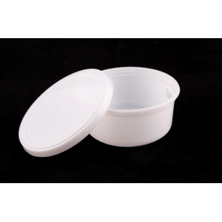 Buy Disposable Plastic Food Container 100ML (Pack of 50 Pics