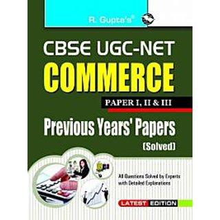 CBSE UGC- NET COMMERCE PAPER I,IIIII