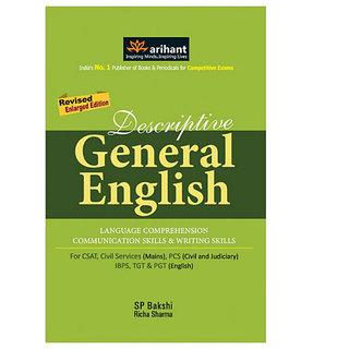 Arihant  Descriptive General English