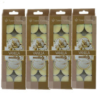 Branded Scented Vanilla Tealight Candles Pack Of 40Pcs