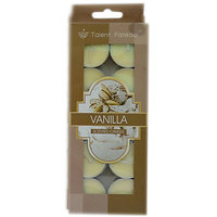 Branded Scented Vanilla Tealight Candles Pack Of 10Pcs