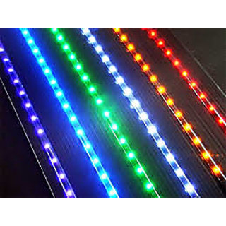 Blue color 5 Meter LED Water Proof Strip light with AC Adaptor