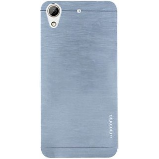 Motomo Back Cover for HTC Desire 826 (Silver)