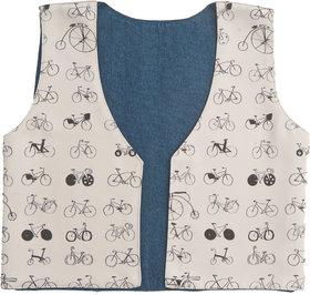 Kids Jacket Boys Brown Cycle
