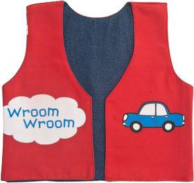 Kids Jacket 3 Car Red
