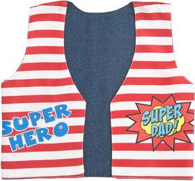 Kids Jacket Boys Dad Superhero