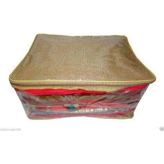 Atorakushon Pack 1pc Saree Salwar Suit Cover Dress Protection Cover Garment Storage Box Bag