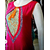 Fashion Station Women's Velvet  Net Semi Stitched Dress Material