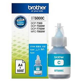 BROTHER ORIGINAL INK BT5000C CYAN