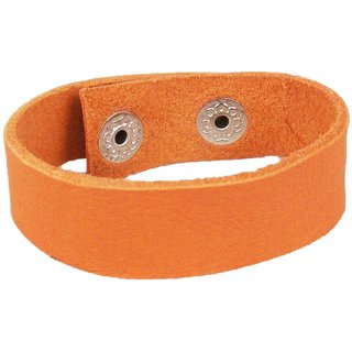 Sakhi Styles men's handmade genuine leather bracelet adjustable size with metal stud closer.