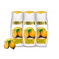 Value Pack Of 3 Dandruff Defense Lemon Shampoo With Extract Of Tea Tree (110 Ml X 3)