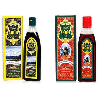 Anti Hair Fall With Triphla  Almond  Anti Headache Brahmi  Amla Hair Oil 2pcs