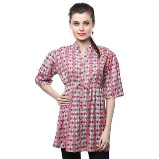 Sadatapan Rayon Multicolor Women Tunics