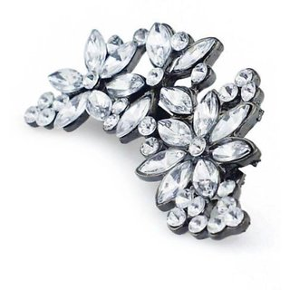 Hot Women Girls Flower Rhinestone Crystal Bride's Bridesmaid's Hair Clip Comb