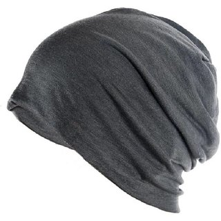 8f48b12ddf3 Buy Fas Dark grey Beanie Cap  woolen cap  winter cap  fall hat Online    ₹155 from ShopClues