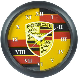 Hommate Exclusive Black  Multi Design Wall Clock -  Size 12