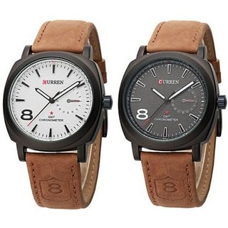Stylish Curren Watch For Mens from ss5000