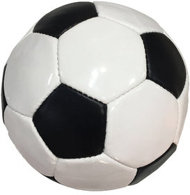 Dee Mannequin White and Black Football - Size  5,Diameter  21cm (Pack of 1,Multicolour)