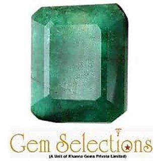 Foocat Emerald (Panna) Green Faceted 4.77 Carat Astrological Gemstones