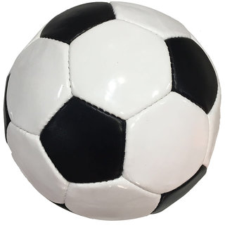 Dee Mannequin White and Black Football   Size 5,Diameter 21cm  Pack of 1,Multicolour