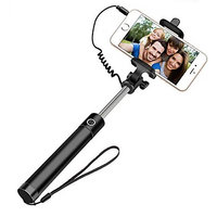 Easy Aux Cable Metal Selfie Stick
