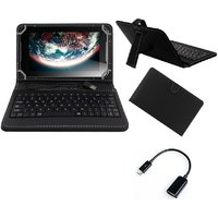 Krishty Enterprises 7inch Keyboard/Case For IBall Slide Gorgeo 4GL Tablet - BLACK With OTG Cable